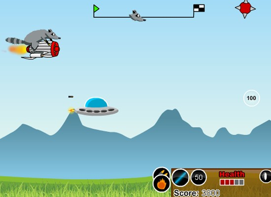 Addictive free arcade game with shooting