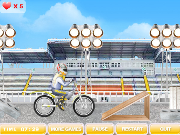 Click to view Flying Motorbike 1.0 screenshot